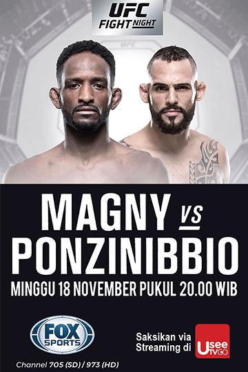 UFC MAGNY VS PONZINIBBIO