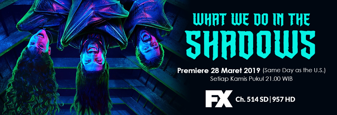 FX What We Do In The Shadows Premieres 28 Mar