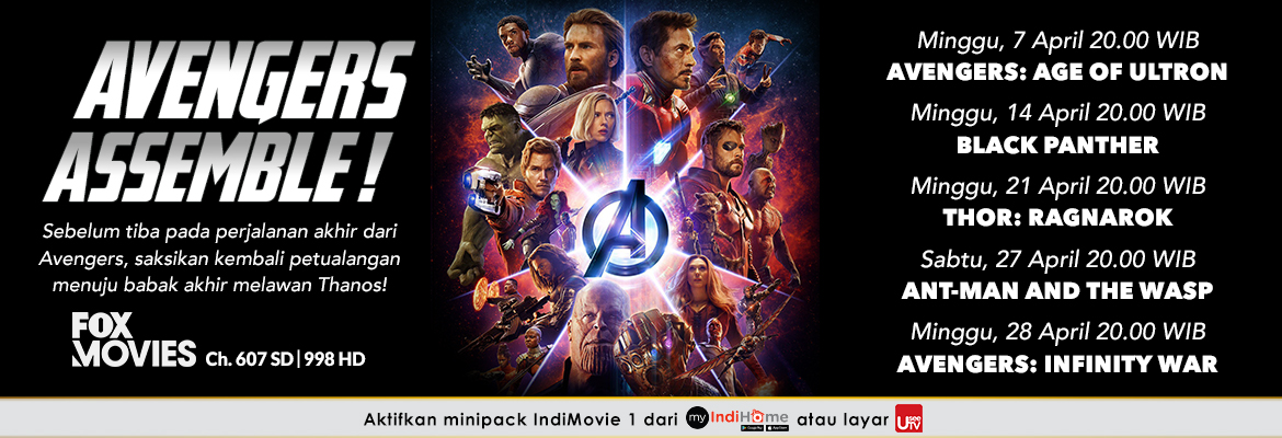 Fox Movies Avenger Assemble 18042019