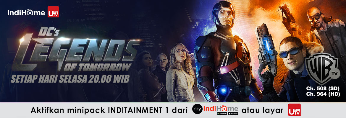 Warner TV DC Legends Of Tomorrow 18042019
