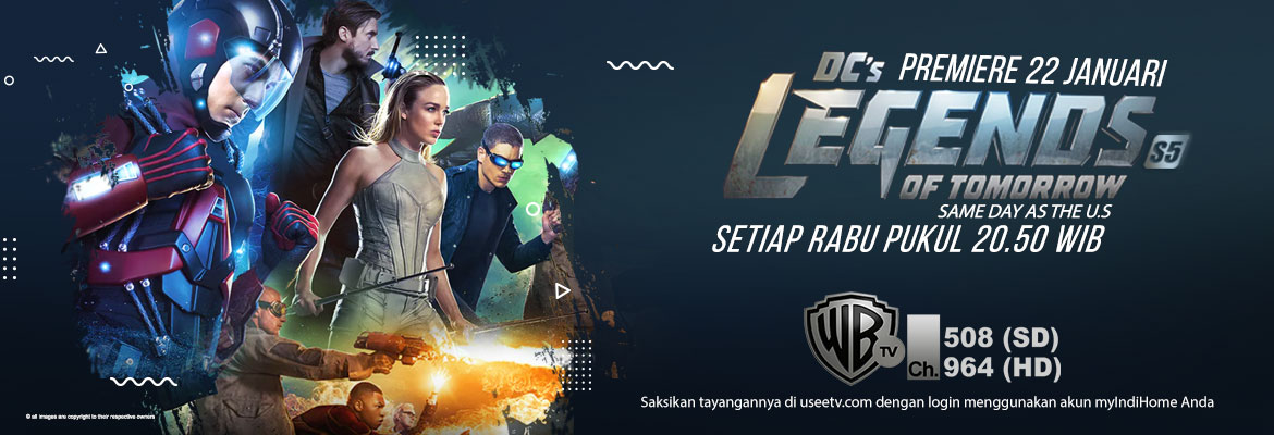 Warner - DC's legends of tomorrow S5